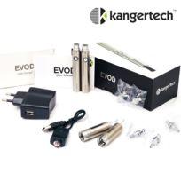 Kangertech - cigarette electronique Kanger Evod Starter Kit 2.2 Ohms Argent