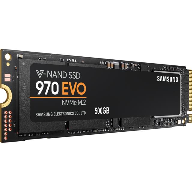 Samsung - 970 EVO 500 Go M.2 PCIe NVMe