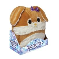 Aroma Home - Peluche Coussin Aux Yeux Brillant Lapin