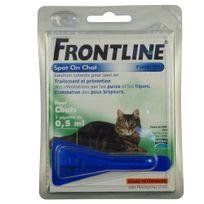 Frontline - Pipette Antiparasitaire Traitement Prévention pour Chat - 1x0,5ml