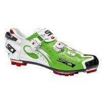 Sidi - Chaussures Mtb Drako Carbon vert fluo blanc vernis