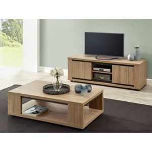 altobuy kirsten ensemble table basse et meuble tv. Black Bedroom Furniture Sets. Home Design Ideas