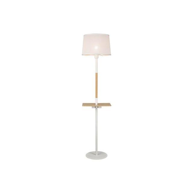 mantra colleccion lampadaire bois scandinave port usb. Black Bedroom Furniture Sets. Home Design Ideas