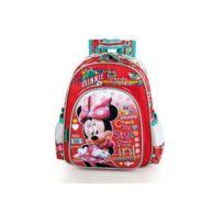 Minnie Et Ses Amies - Sac à dos Minnie Traveler Rouge 30 Cm Haut De Gamme