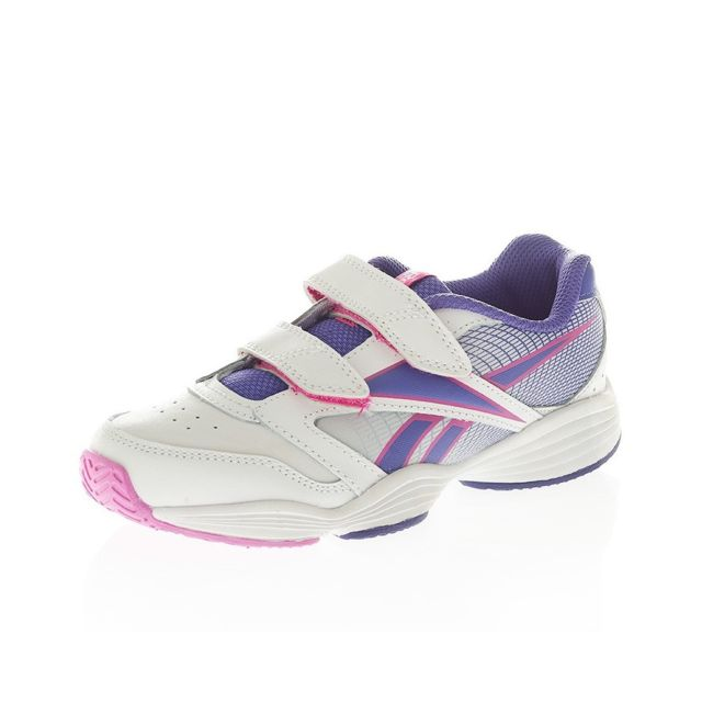 e56e9e27d93e6 Reebok - Chaussures Play Range Kc Blanc Tennis Fille Reebok Multicouleur 29