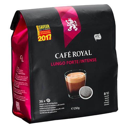 CafÉ Royal Dosettes souples de café Lungo Forte - Sachet de 36