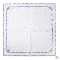 Talking Tables - Nappe De FÊTE CarrÉE À Motifs Porcelaine Bleu 140 X 140 Cm