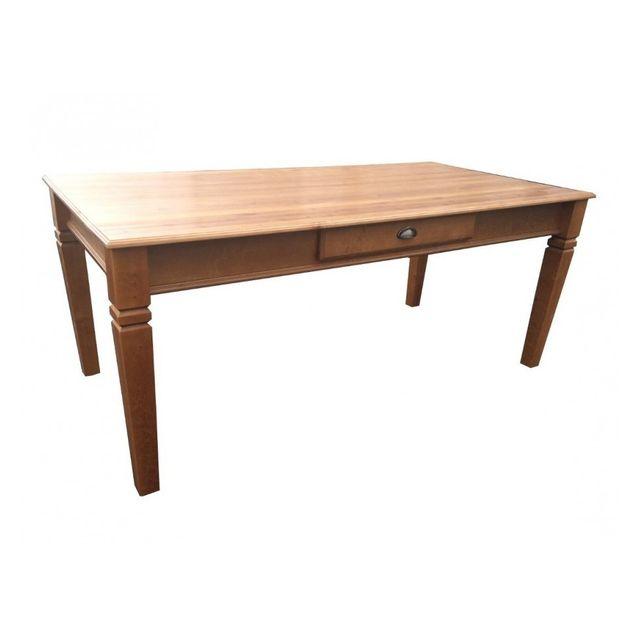 Générique Table teintée chêne