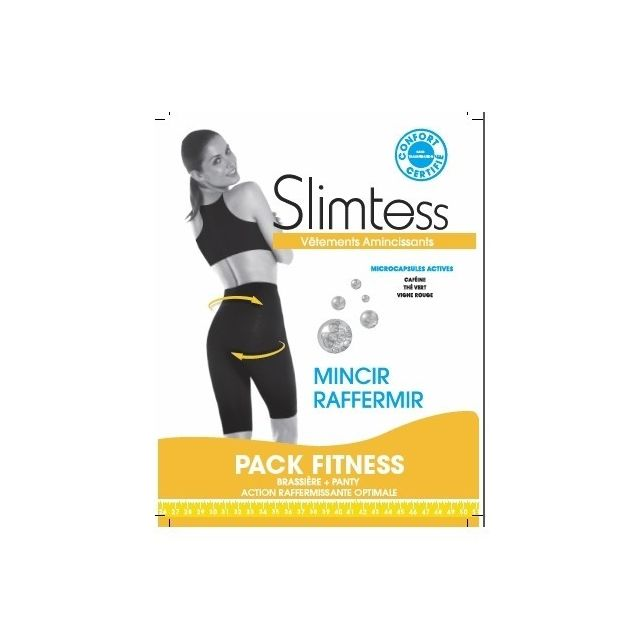 Slimtess - Brassière + Panty Minceur - Pack Fitness Taille ...