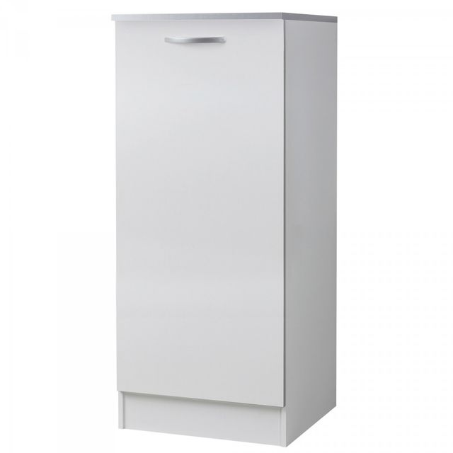 Altobuy twist blanc meuble colonne 60 cm sebpeche31 for Meuble bureau 60 cm