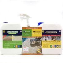 Guard Industrie - Décrasser et protéger sol et terrasse - Pack complet