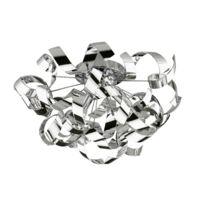 Briloner Leuchten - Frise - Plafonnier Chrome Ø50cm - Lustre et plafonnier Sampa Helios designé par