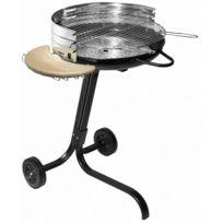 ALPERK - Barbecue à charbon sur roulettes Star