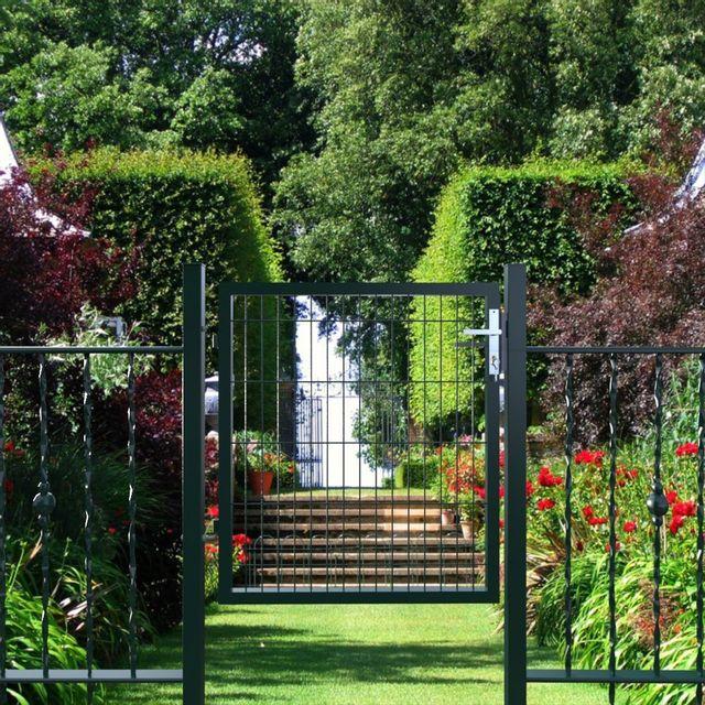 Rocambolesk - Superbe Portillon de jardin avec serrure maille ...