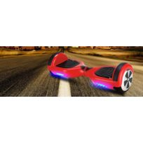 Viron - Hoverboard gyropode 600W rouge Motion batteries Samsung Li-ion