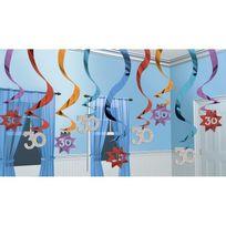Party2u - Guirlandes anniversaire 30 ans x15