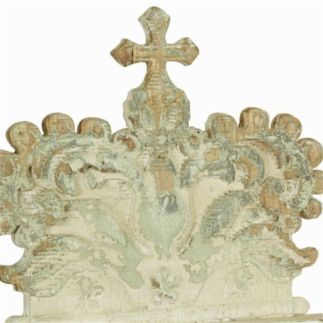 Craftenwood Cintre mural couronne by Craften Wood