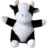 Mbw - Peluche vache Cordula - 60389 noir et blanc