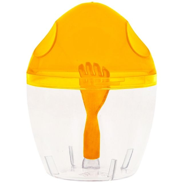 Promobo Mini Shaker Omelette Batteur Cuisine Préparation Oeuf Orange