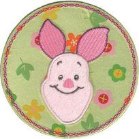 Disney - Winnie L'OURSON Porcinet Fleur Cercle Fer Appliques