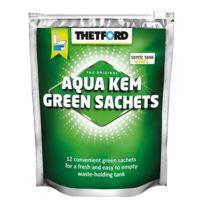 Thetford - Aqua-Kem vert sachets Recharge souple x 12