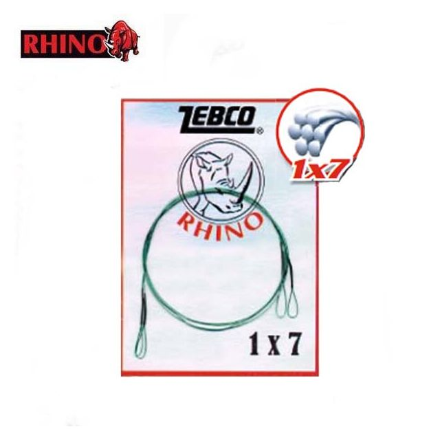 Rhino - Bas De Ligne De Peche Acier 7 Brins