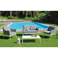 Salon jardin osier - catalogue 2019 - [RueDuCommerce - Carrefour]