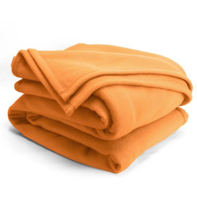 linnea couverture polaire 240x260 cm isba miel 100 polyester 320 g m2 trait non feu. Black Bedroom Furniture Sets. Home Design Ideas