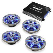 ELECTRONIC STAR - Set HiFi BeatPilot Fx-401 Auto ampli enceintes