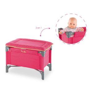corolle lit b b table a langer pour poupon 36 42 cm. Black Bedroom Furniture Sets. Home Design Ideas