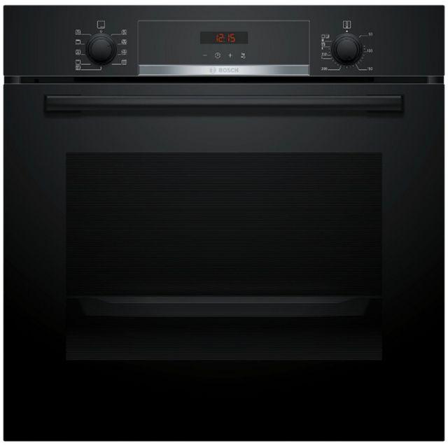 Bosch four intégrable 71l 60cm a pyrolyse noir - hba573eb0