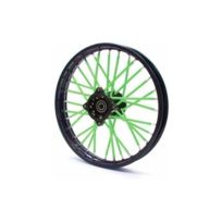 Pitrider - Couvre rayon Vert - Spoke Skins - Dirt bike / Pit bike / Mini Moto