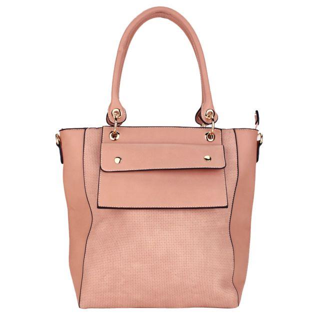 9b6b9308bc Cendriyon - Grand sac à main rose Marque Orella - pas cher Achat / Vente  Sacs à main - RueDuCommerce
