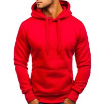 a40da96716eed Sweat rouge homme - catalogue 2019 - [RueDuCommerce - Carrefour]