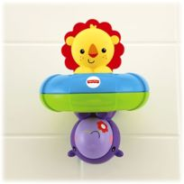 Fisher Price - Fisher Nourrisson - Bfh74 - Jouet De Premier Age - Lion Et Hippo Du Bain