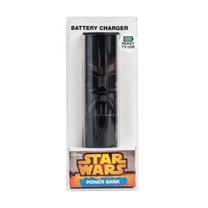 MOBILITY - Batterie de secours 2 600 mA STARWARS Darth Vader