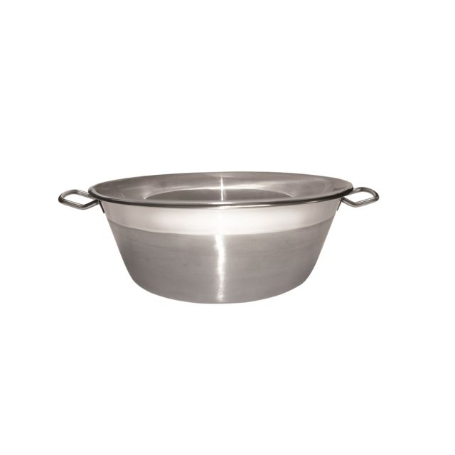 Bassine A Confiture Inox 38 cm - tous feux dont induction