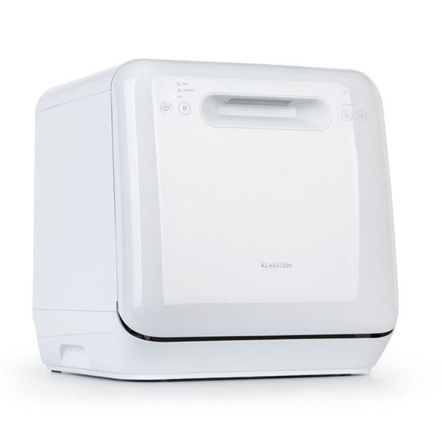 KLARSTEIN Aquatica Lave-vaisselle autonome sans installation - 3 programmes - Fonctionnement économique - 860W - Classe A - Blanc