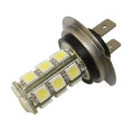 Autoled - 0040 - 2 ampoules Led H7 12/24V 4 Hp blanc