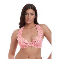 f640cf489c Freya - Haut de maillot de bain Balconnet Armatures Totally Stripe Rouge