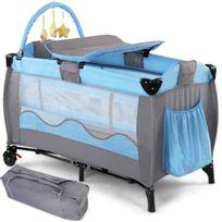 Infantastic - Lit de voyage pour enfants en modèle «Bleu