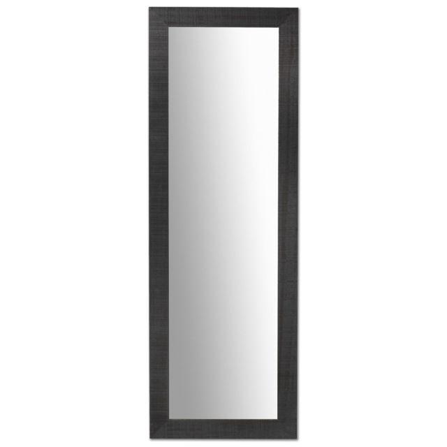Kavehome Miroir Seven, noir 52x152 cm
