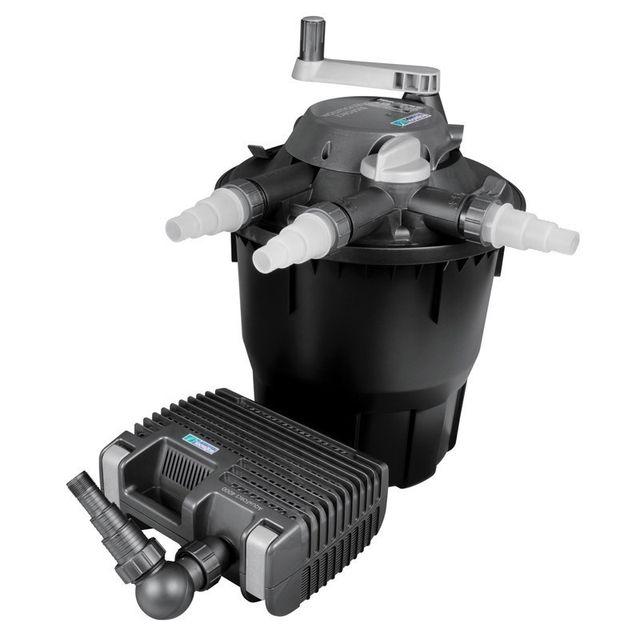 Hozelock Système de filtration complet pour bassin avec pompe et filtration jusqu'à 12000 litres