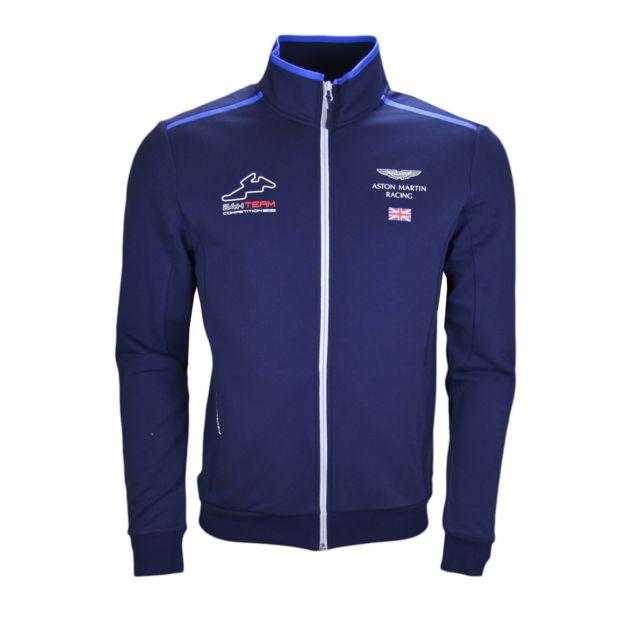 Hackett Martin Zippée Homme Xxl Veste Sweat Aston Bleu Marine Pour H8qHIr