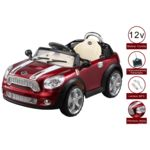cristom voiture electrique pour enfant 12 volts t l commande parentale version luxe pas. Black Bedroom Furniture Sets. Home Design Ideas