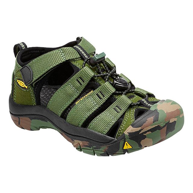 Keen Sandales Newport H2 Crushed Bronze Green enfant