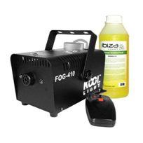 Kool Light - Machine à fumée 400w + remote et liquide Fog-410F