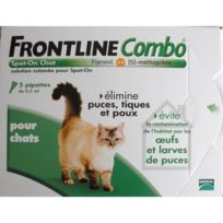 Frontline - Combo 3x0.5ml - Pour chat