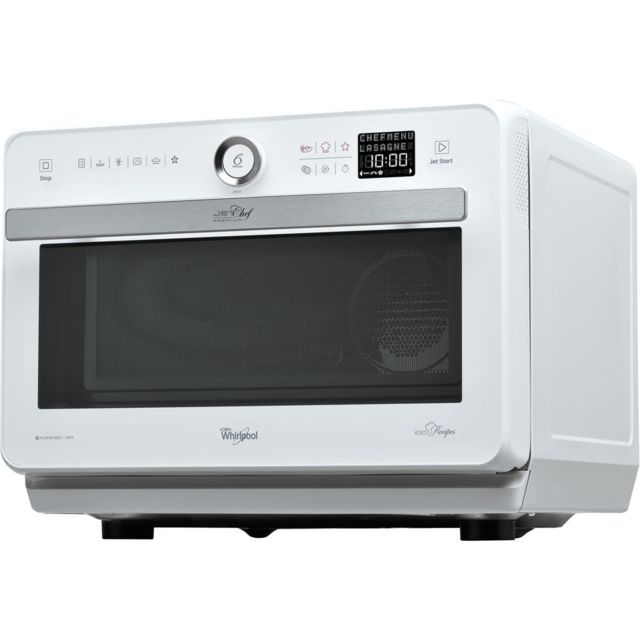 Whirlpool Jt479WH, blanc - Achat Four micro-onde 86fa4be4ef91
