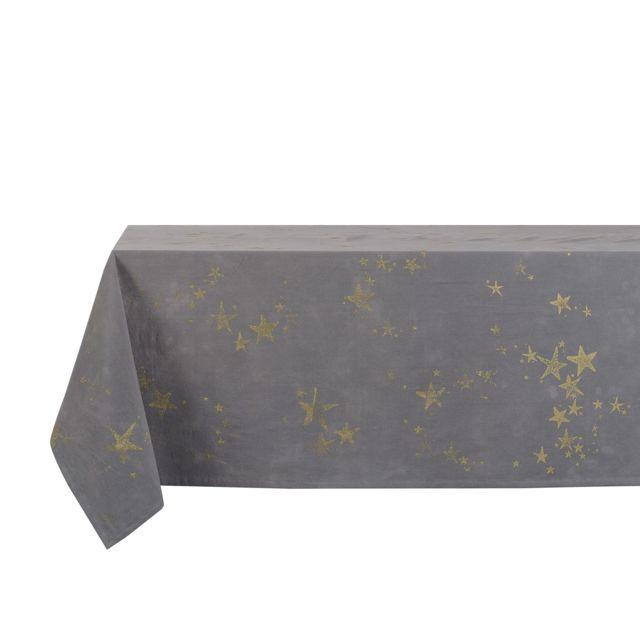 Jardin d\'Ulysse - Nappe 100% coton imprimé motifs étoiles Belle ...